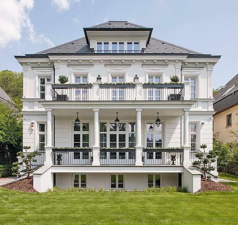 Kastenfenster Villa