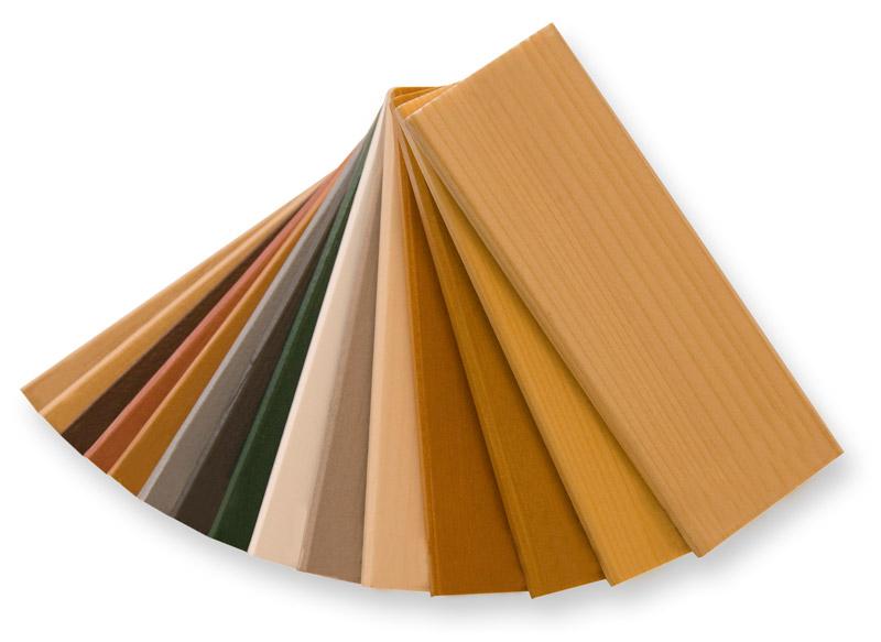Farbmuster Hasslinger Holzfenster