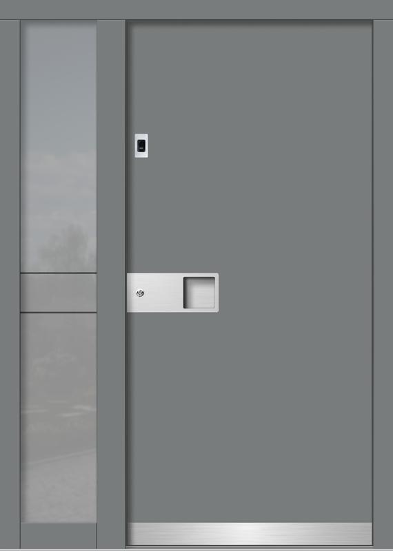 Holzhaustür H101+ST_2_V