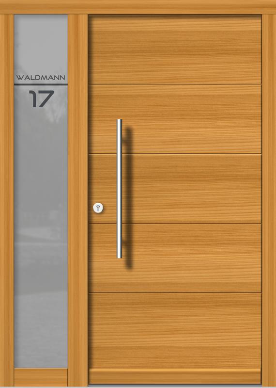 Holzhaustür H107+ST_1_V