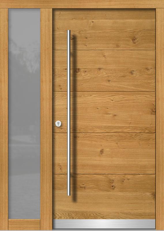 Holzhaustür H107+ST_2_V